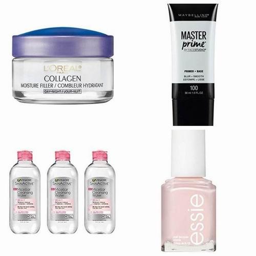 精选Maybelline、L'Oreal、essie 、Garnier等品牌美妆护肤品 6.4折 3.57加元起优惠!