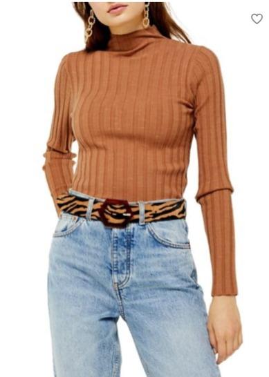 Topshop时尚服饰3.5折起:牛仔裤 27加元、毛衣23加元、时尚美包14加元、大衣 89加元!