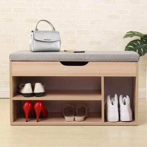 DlandHome多用途收纳柜/鞋柜  75加元限量特卖,原价 98加元,包邮