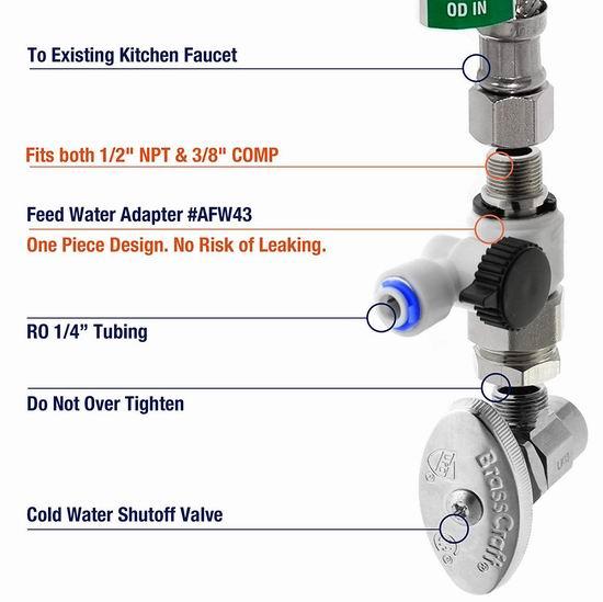iSpring RCC7AK 6级反渗透 家用水过滤/矿泉水系统 299加元包邮!