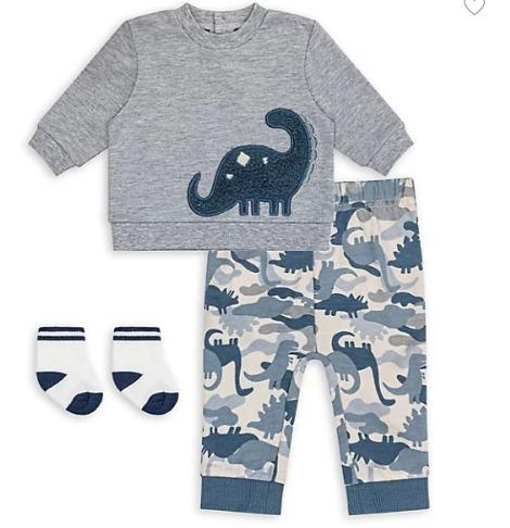 加拿大品牌!Petit Lem清新可爱儿童服饰、连体服、睡衣 5.8折起+满省10加元