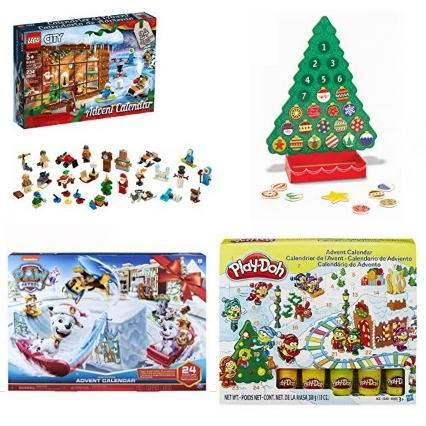 金盒头条:精选 Lego、Disney、费雪、Play-Doh 等品牌圣诞倒数日历玩具套装6折起!