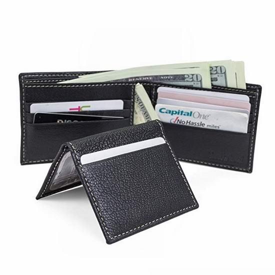 黑五价!历史新低!Timberland 添柏岚 RFID防盗 男式真皮钱包4.6折 17.94加元!2色可选!