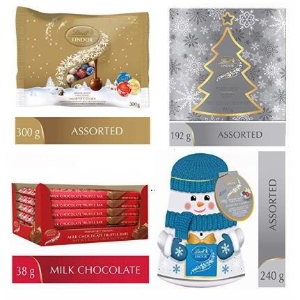 金盒头条:精选 Lindt 瑞士莲 巧克力7.4折起!低至8.49加元!