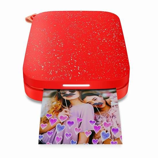 金盒头条:历史新低!HP 惠普 Sprocket 200 小印二代 二合一手机照片打印机5.9折 94.99加元包邮!4色可选!
