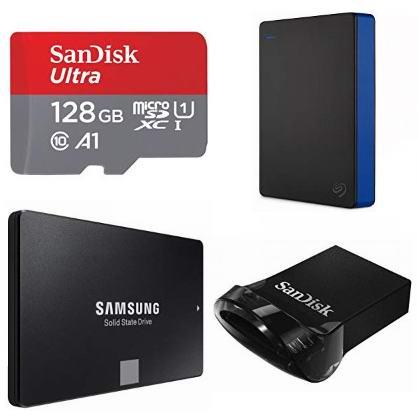 金盒头条:精选大量移动硬盘、固态硬盘、U盘、记忆卡等3.5折起!
