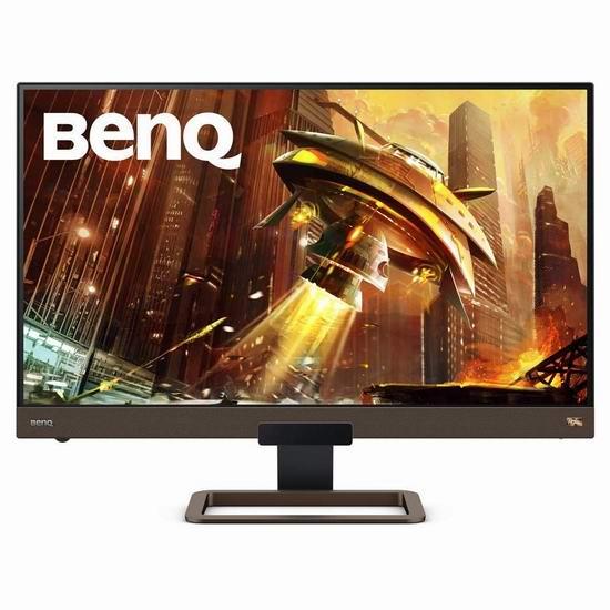 BenQ 明基 EX2780Q 27英寸 QHD 1440P IPS 144Hz 游戏显示器6.2折 499.99加元包邮!