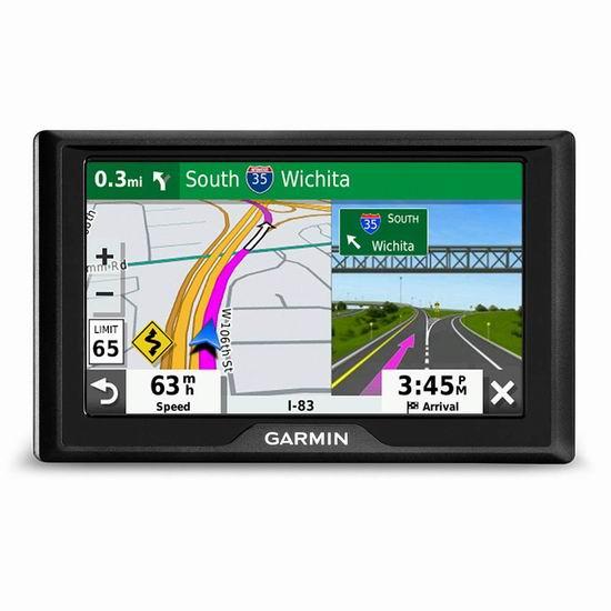 历史新低!Garmin 佳明 Drive 52 5英寸 车载GPS导航仪 129.99加元包邮!