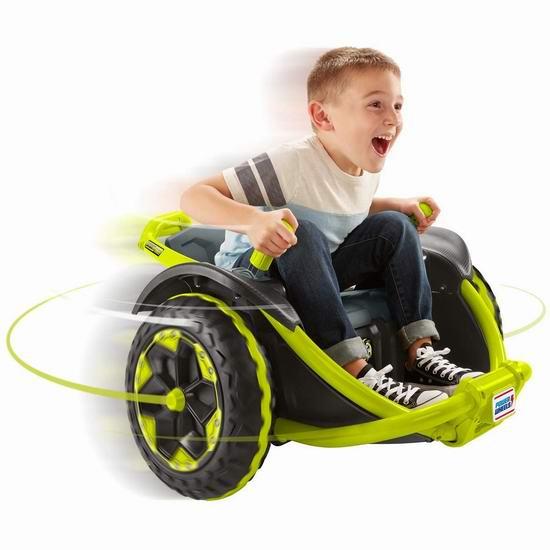 历史新低!Fisher-Price 费雪 Power Wheels Wild Thing 儿童电动越野车 229.97加元包邮!