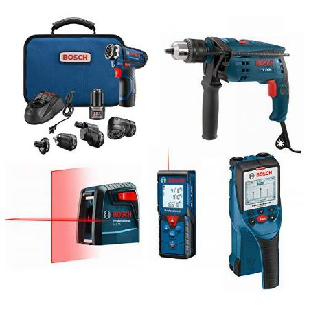 金盒头条:历史新低!精选 Bosch 博世 电钻、冲击钻、水平仪、测距仪、砂光机等电动工具3.1折起!