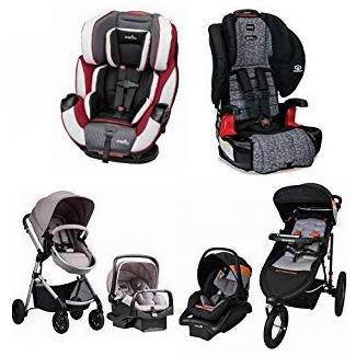 金盒头条:好价!精选 Britax、Evenflo、Safety 1st、Schwinn 等品牌婴儿推车、提篮、安全座椅5.8折起!
