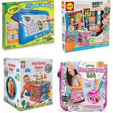 金盒头条:精选 Crayola、Alex Toys 等品牌儿童绘画及DIY手工玩具4.7折起!