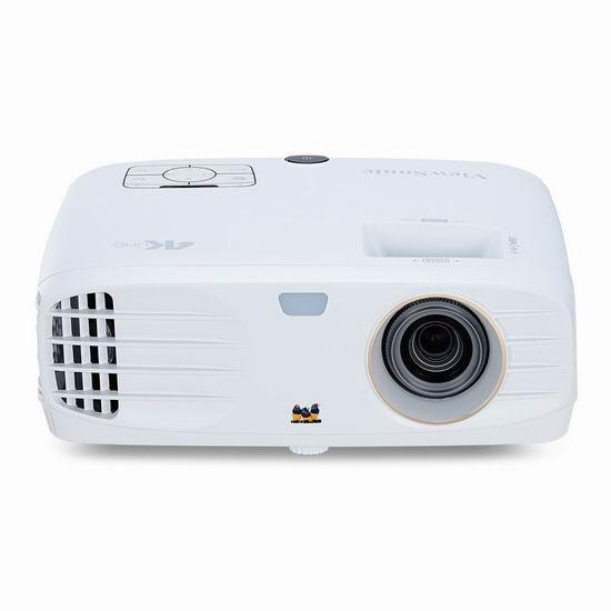 历史最低价!ViewSonic 优派 PX747-4K 4K超高清 3500流明 家庭影院投影机 899.99加元包邮!
