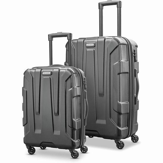 Samsonite 新秀丽 Centric HS 全PC 20+24寸 时尚硬壳拉杆行李箱2件套2.7折 152.21加元包邮!