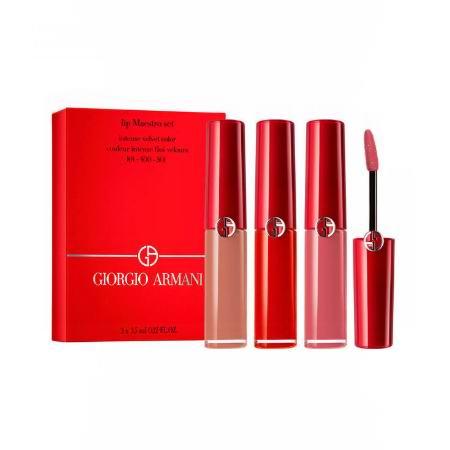 Giorgio Armani 阿玛尼全场8折+清仓区6折起!收新色红管唇釉#205、口红超值装!