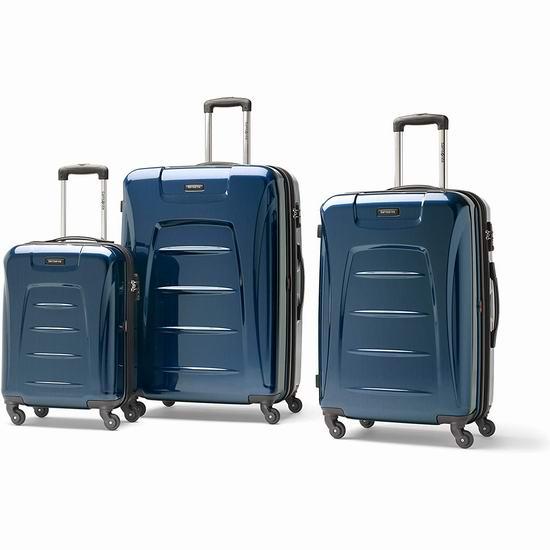 Samsonite 新秀丽 Winfield 3 21/26/30英寸 全PC轻质 时尚行李箱3件套 234.3加元包邮!