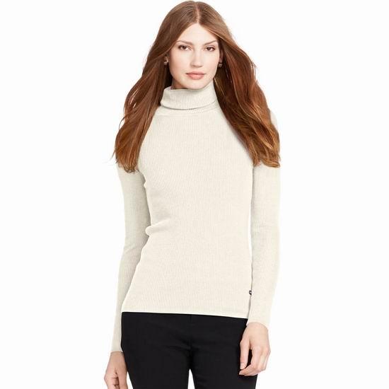 今日闪购:精选 Lauren Ralph Lauren 时尚女装、毛衣、外套、裙装、牛仔裤等全部6折!