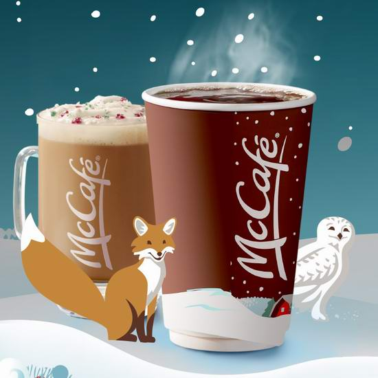 McDonald's 麦当劳 McCafé 麦咖啡仅需1元!小杯拿铁2元!早餐麦满分3元!