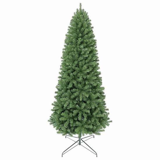 销量冠军!Oncor 4.5/6/7.5英尺 环保仿真圣诞树 64.99-123.99加元包邮!3款可选!