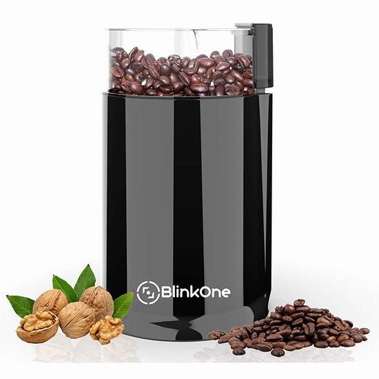 手慢无!BlinkOne 咖啡豆/香料研磨机 9.04加元限量特卖!