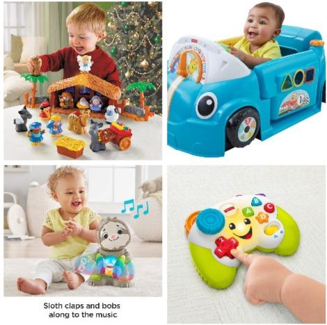 金盒头条:精选 Fisher-Price 费雪儿童玩具 5折 2加元起特卖!