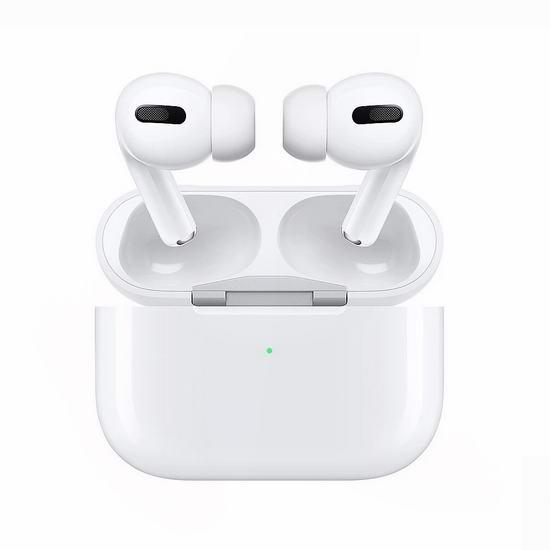 黑五专享:历史新低!新一代 Apple AirPods Pro 苹果降噪防水耳机 267.99加元包邮!