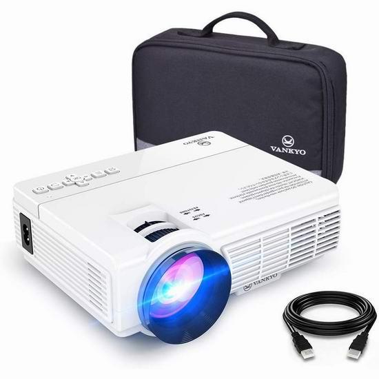 VANKYO LEISURE 3 1080P 3600流明 家庭影院投影仪 84.99加元包邮!