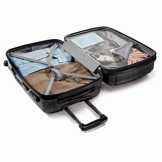 Samsonite 新秀丽 Winfield 2 20+28寸 全PC 超轻拉杆行李箱2件套 184.41加元包邮!