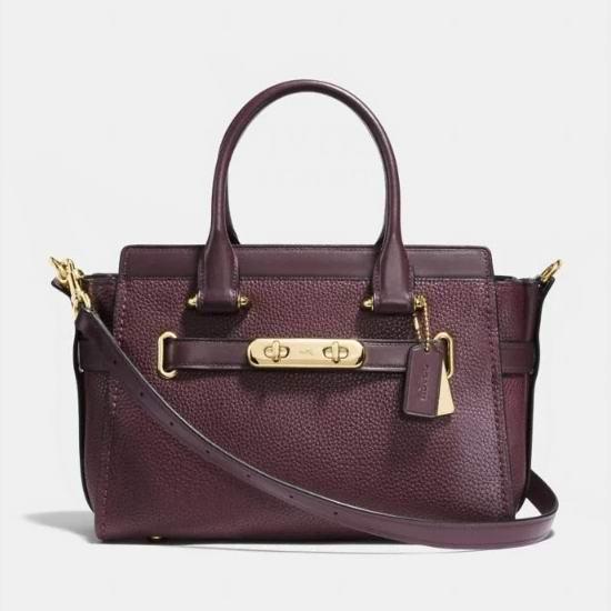 精选 Coach Swagger 27 系列手袋 4折 220加元,原价 550加元,包邮