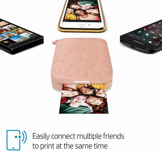 红色补货!历史新低!HP 惠普 Sprocket 200 小印二代 二合一手机照片打印机4.3折 69.99加元清仓并包邮!3色可选!