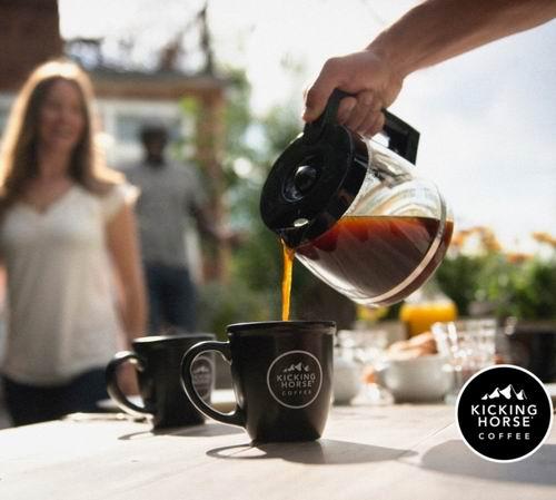 金盒头条!史低价!精选 Kicking Horse Coffee 踢马咖啡 有机研磨咖啡 5.3折 7.59加元起特卖!