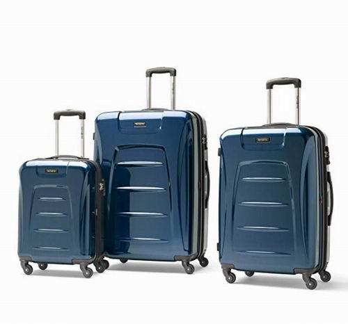 史低价!Samsonite Winfield 3 Fashion  硬壳行李箱3件套 299.99加元,原价 699.99加元,包邮