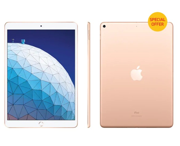 Apple iPad Air / Pro  10.5/11 英寸64GB/256GB/512GB/1TB 平板电脑 立减50加元!