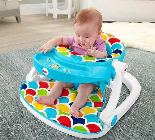 历史新低!Fisher-Price 费雪 Sit-Me-Up 豪华婴儿学座椅4.6折 29.97加元!