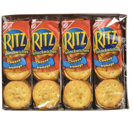 Ritz Crackers芝士夹心饼干(304克) 1.99加元