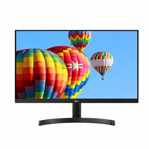 LG 24MK600M-B 24英寸显示器 149.99加元,原价 209.99加元,包邮