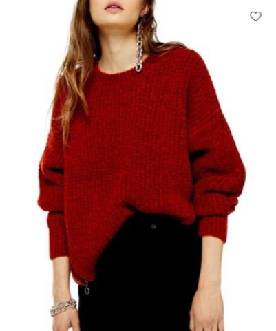 精选 TOPSHOP 毛衣、卫衣 7.5折+额外7.5折,毛衣低至25加元!
