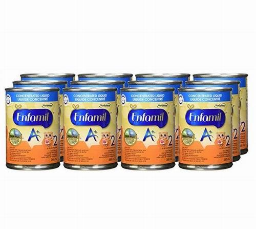 Enfamil A+ 2 即开即用液体奶 385毫升 × 12 瓶 47加元,原价 54.94加元,包邮