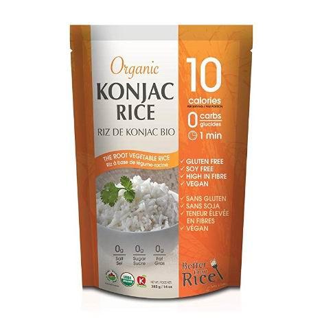 减少对重餐或零食的欲望!Better Than Rice有机修身魔芋饭、魔芋面、魔芋意大利面  4.99加元