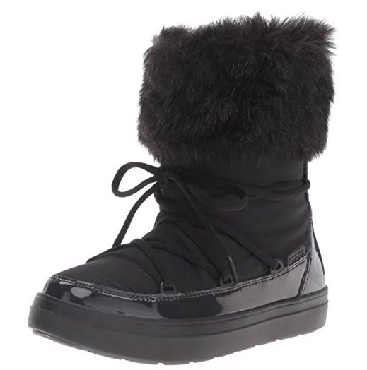 Crocs Lodge Point女士雪地靴 67.16加元(5码),原价 90.26加元,包邮