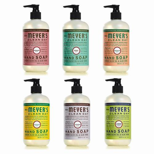 Mrs. Meyer's 梅耶太太 天然洗手液 370毫升  5.99加元,多款可选!