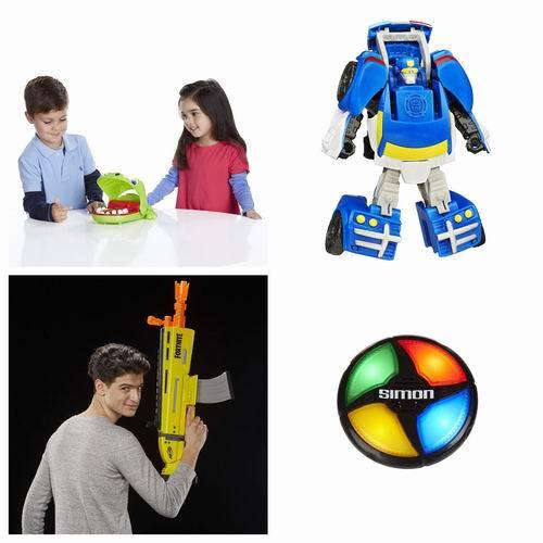 金盒头条:精选 Hasbro 、Play-Doh、Playskool Heroes 等儿童玩具4.5折起!低至4.8加元!