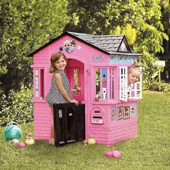 黑五价!历史新低!L.O.L. Surprise! 惊喜娃娃 儿童玩具生活小屋 129.97加元包邮!