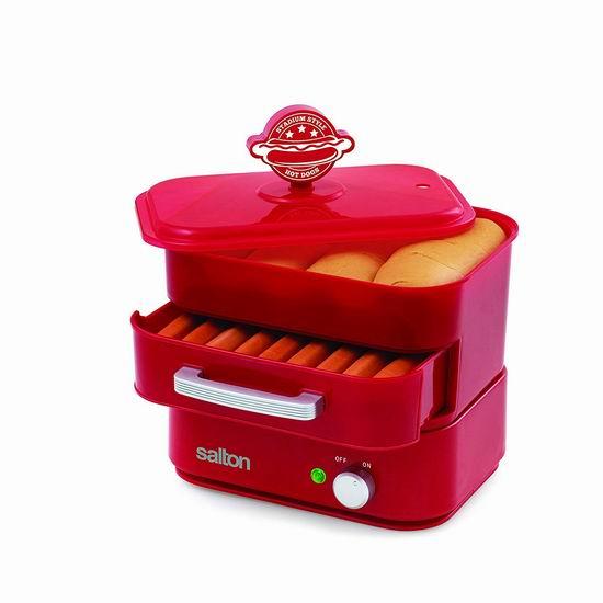 历史最低价!Salton Hot Dog 早餐热狗机 29.98加元!
