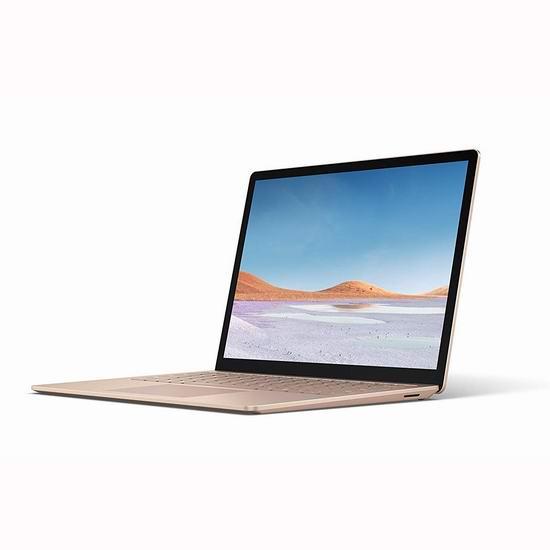 历史最低价!最新款 Microsoft Surface Laptop 3 13.5英寸笔记本电脑(Core i5, 8GB, 256GB SSD) 1349.99加元包邮!4色可选!