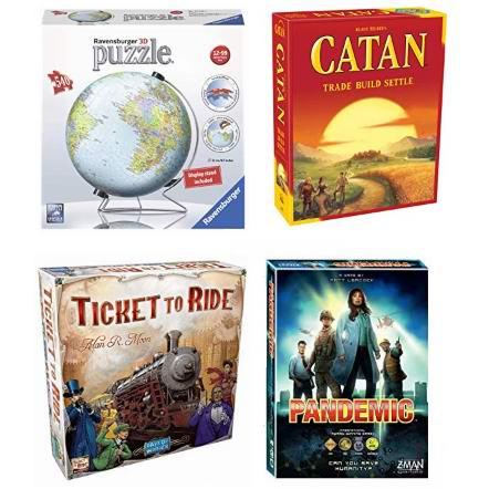 金盒头条:精选多款桌游及拼图玩具套装6折起!