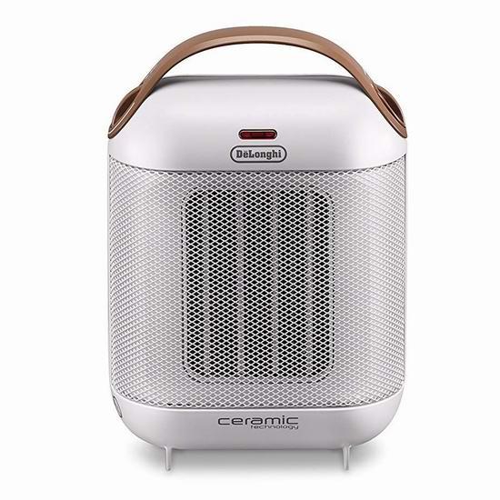 白菜价!历史新低!De'Longhi 德龙 HFX30C15WCA Capsule 紧凑型陶瓷电取暖器2.5折 14.97加元清仓!Walmart同款54.98加元!