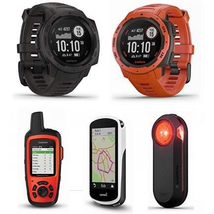 精选多款 Garmin 智能手表及GPS卫星定位设备7折起!