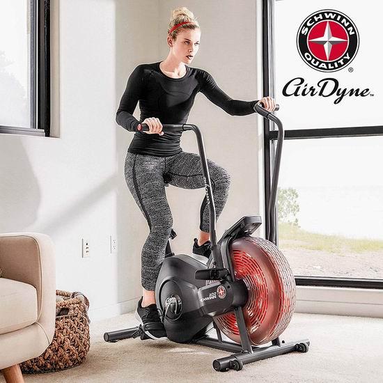 Schwinn AD2 Airdyne 立式健身自行车5.8折 349加元包邮!室内健身,无惧风雪!