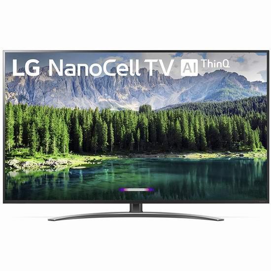 黑五价!历史新低!LG 75SM8670PUA Nano 8系列 75寸 4K超高清智能电视6.2折 2497.99加元包邮!